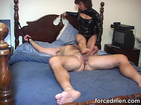 Men tied and teased