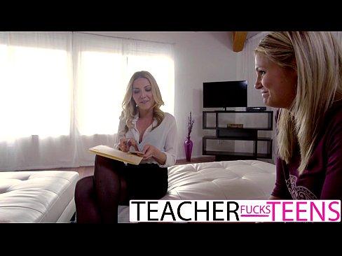 Karla Kush Teaches Student To Take Monster Cock
