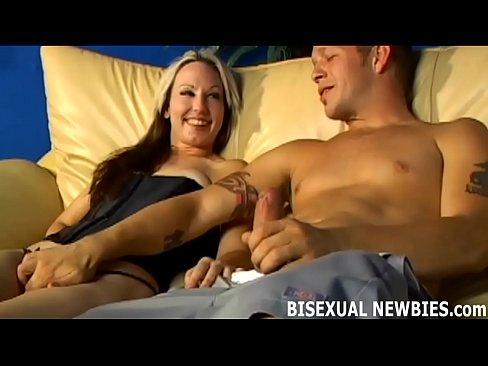 hardcore amateur bisexual mmf surprise encounter