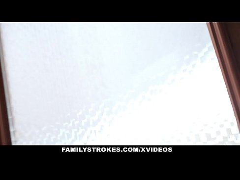 FamilyStrokes- Naughty Teens Blackmail MILF Into Fucking