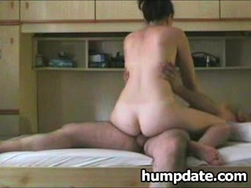 skinny girl gets railed from behind