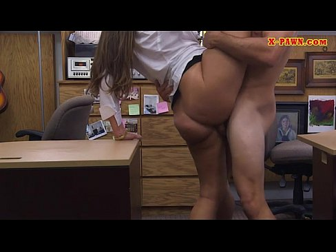 Big Butt Babe Screwed At The Pawnshop