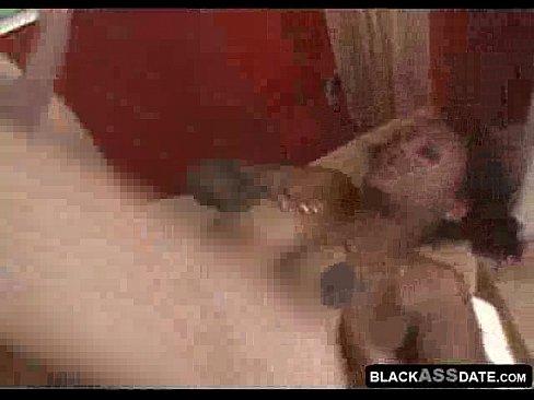 Black Girl Creams White Dick