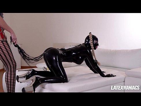 Latex Lucy Spanked & Humiliated By Dominatrix Kayla Green