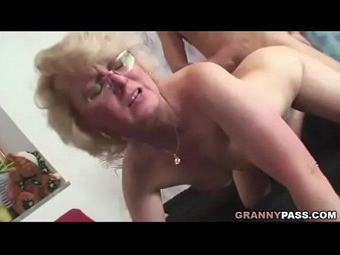 Granny Gets Big Black Cock