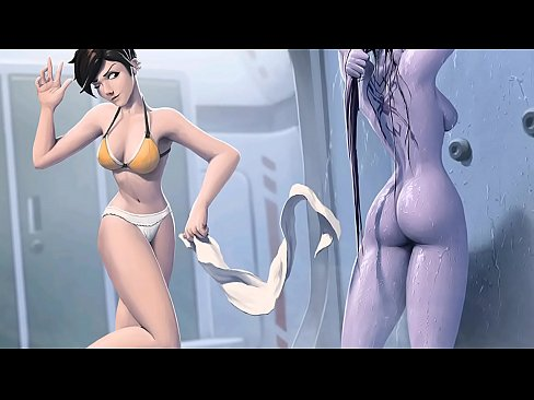 Big boobs in bikini not naked overwatch