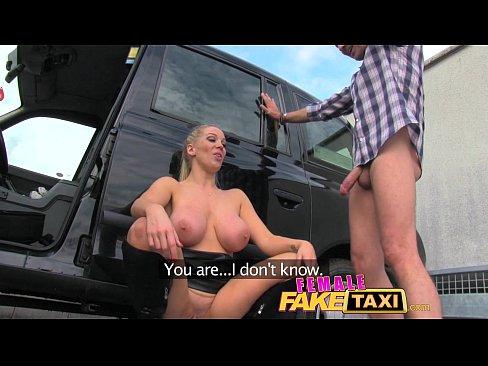 Rebecca blonde new faketaxi