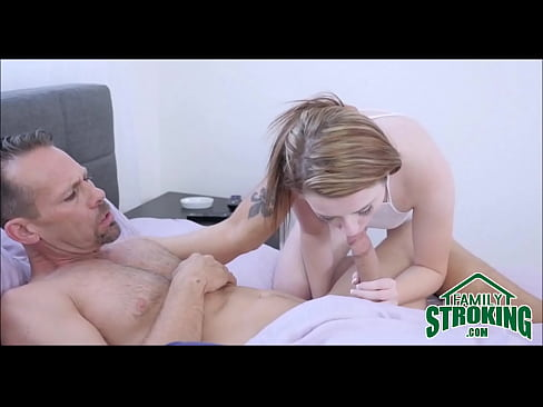 Petite licking stepbrother grannies