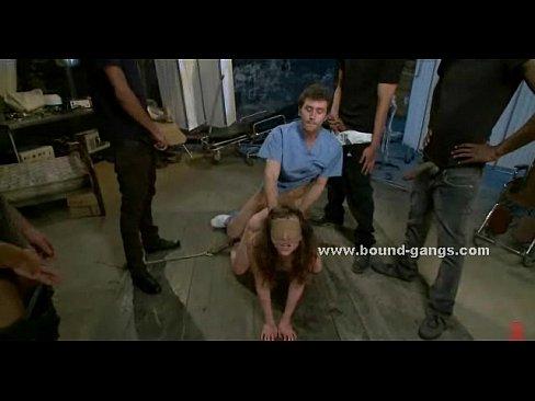 Sex slave gang bang clips