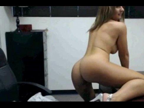 Milf stripping on cam