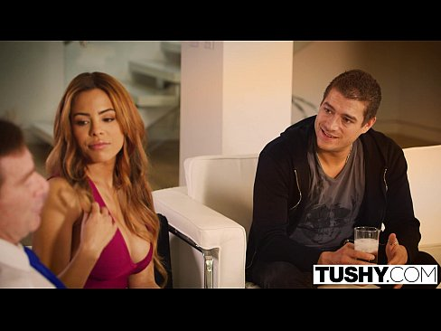 tushy first anal for latin beauty luna star