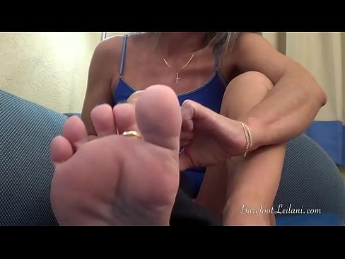 Stinky Feet JOI with Leilani Lei