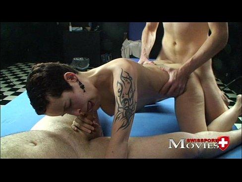 Hot Student Kyra experienced bondage fuck with 2 dicksXXX Sex Videos 3gp