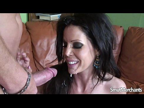 Amateur Ebony Cum Mouth