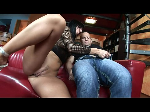 huge cock fills up simone styles wet little cunt during nasty threesome action