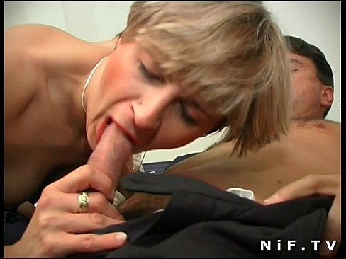 French milf gets her ass pounded