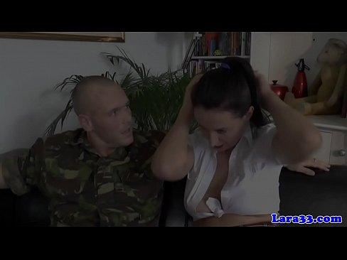 XXX 2019 Gagged british milf in stockings ass drilled