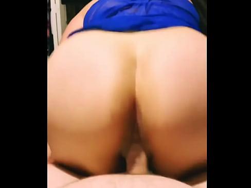 Huge facial for sexy latina with a big ass