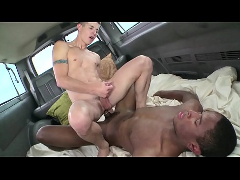 BAIT BUS - Black Straight Bait Jayden Heart Goes Gay For Pay With Tyler West