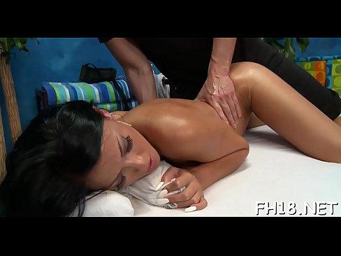 Ribald girl fucked hard doggy style and loving it's Thumb