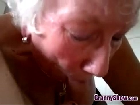 amateur grandma cum swallow