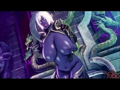 Hot elf gets fucked xvideos Dark Elf Gets Fuck By All Monster Xvideos Com