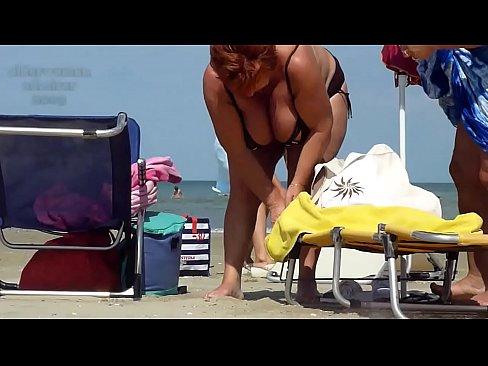 Grannies at beach