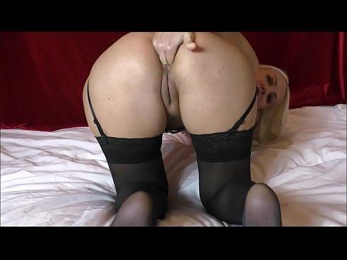 Anal dildo riding on webcam & Fisting Helena Moeller