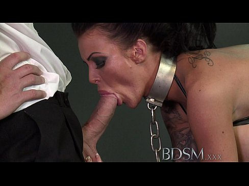 BDSM XXX Big breasted subs get chained up slapped and fucked's Thumb