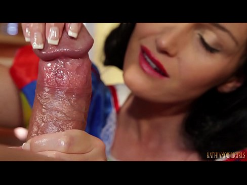 cover video I Ll Eat All  Your Warm Seed   Snow White Oily Handjob On Big Dick Pov With Kathia Nobili   Part 2