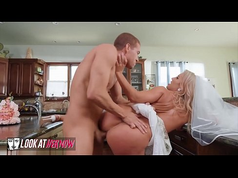 Blonde Bride (Candice Dare) Gets Her Pussy Pounded By (Xanders) Cock - Look Ather Now