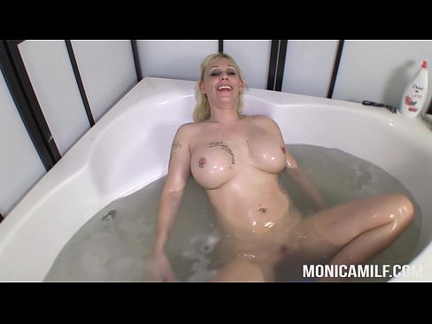Dirty clean and wet with MonicaMilf