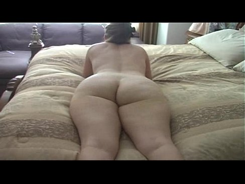 Nude girl getting it bent over