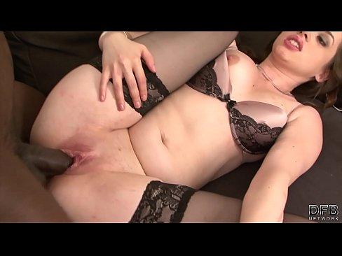 Black ass filled with cum