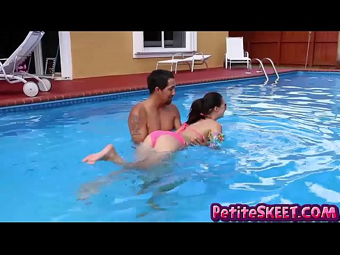 swim and dick lessons for teenie teen carolina sweets