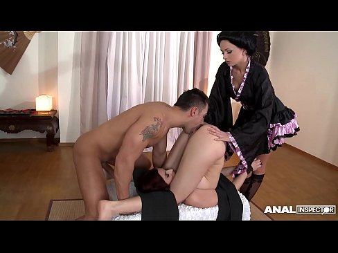 Kristina Rose Anal Threesome
