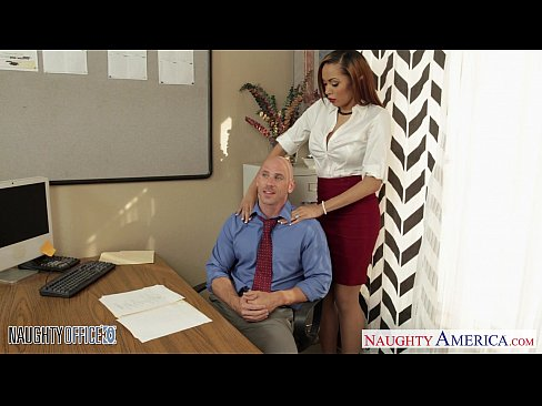 Stockinged babe Serena Ali fuck in the office's Thumb