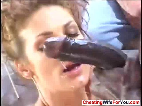 Wifes with cum on their face
