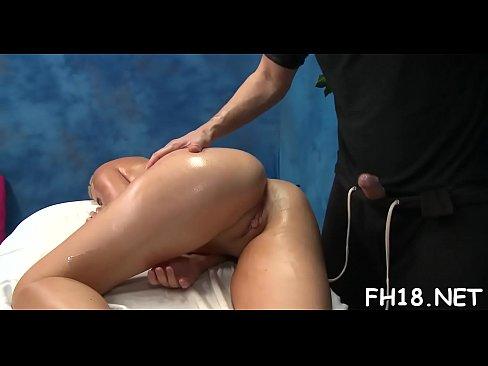 Topless massage