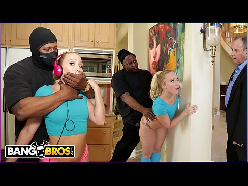BANGBROS – AJ Applegate Gets Hate Fucked By Home Invader Behind Dad's Back