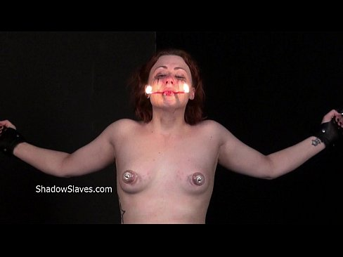 Hot wax punishment and amateur bdsm of crying Isabel Dean in extreme bondage and's Thumb