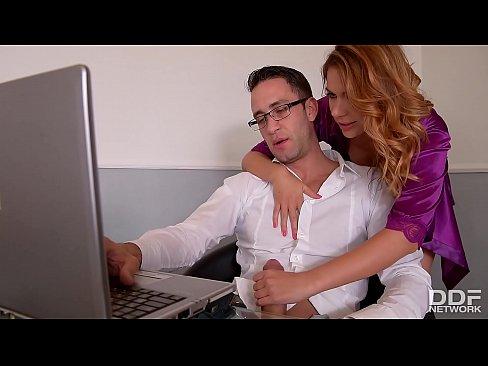 Horny Wife Ani Blackfox Fucked hard by Remote work Husband
