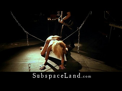 Bdsm bondage slave domination pain from the master the young slaveXXX Sex Videos 3gp
