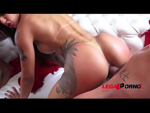 Brazilian double anal
