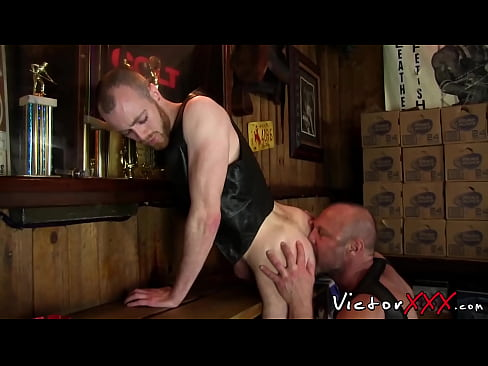 Gay hairy cock sucked off