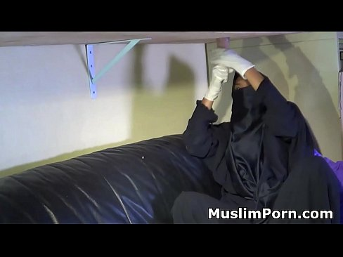 Think, niqab caption porn