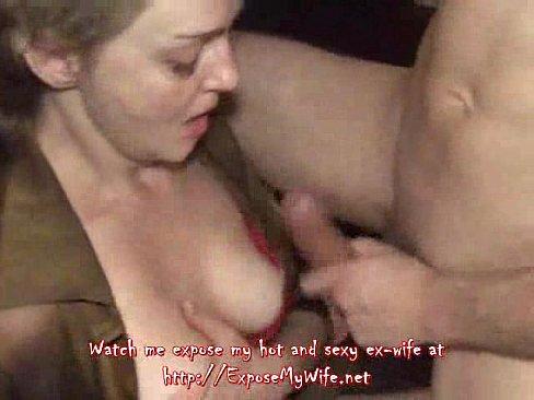 Sucking huge pulsing cock