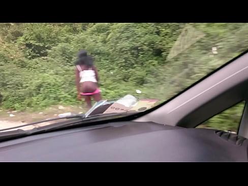 Schwarze Prostituierte