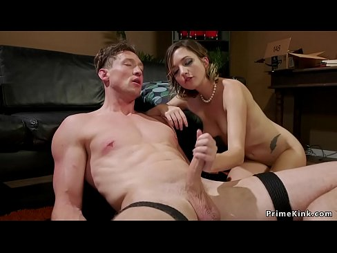 Dude gets anal fucked by his girlfriend