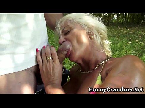 Mature grannies anal
